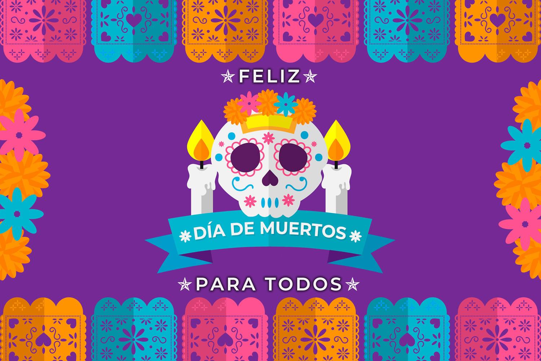 feliz dia de muertos para todos